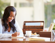 Business Writing - Woman