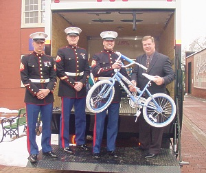 Bicycles for Toys for Tots