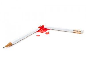 Bleeding Pencil
